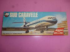 Vintage model kit Airfix Sud Caravelle, Série 3, 1:144 Air France