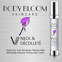 Neck Firming Anti Wrinkle Cream Hyaluronic Acid Matrixyl 3000 Vitamin C & E