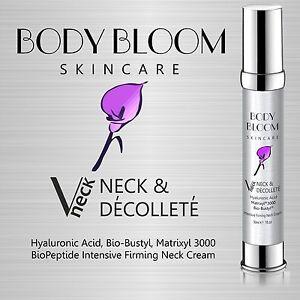 Neck Firming Anti Wrinkle Cream Hyaluronic Acid Vitamin C & E Matrixyl 3000