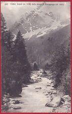 VERBANIA MACUGNAGA 206 CIMA JAZZI - OSSOLA Cartolina viaggiata 1928