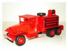 Véhicules de pompiers miniatures rouges 1:50