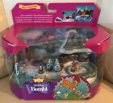 VINTAGE Polly Pocket Disney Bambi New in Box Thumper Flower Mini Collection 1998