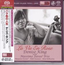 """Denise King With Massimo Farao' Trio La Vie En Rose"" Japan Venus Records SACD"