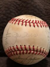 1982/83 Atlanta Braves Team Signed Ball 23 Autos Donnie Moore Niekro Watson