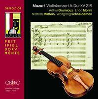 olfgang Amadeus Mozart - Mozart - Violin Concerto No 5 - 4 recordings [CD]