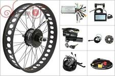 36/48V 750W Bafang Cassette Fat Tire Rear Motor Wheel Ebike Conversion Kit 190mm