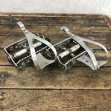 Lyotard 460 French Thread Pedals Vintage Road Bike Stronglight Peugeot M4