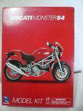 MODEL KIT MOTO DUCATI MONSTER S4 1/12   NUEVO CAJA
