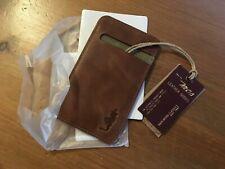 étui de carte ou téléphone mcs (Marlboro) cuir marron clair