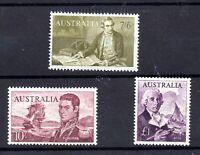 Australia 1903 Navigators 10/-, 7s 6d & £1 mint MH WS18130