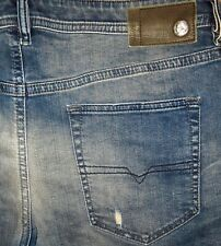 Original DIESEL BUSTER 0845F Used-Jeans Slim Tapered W 36 L32/34 Tepphar Belther