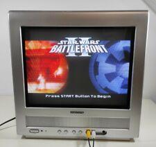 "Ferguson FTV150T 15"" True Flat Portable CRT TV Retro Gaming Monitor PAL Free P&P"