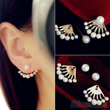 FASHION JEWELRY EARRINGS PEARLS EAR STUDS EARBOBS EAR CLIPS ADORABLE GIFT
