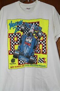 CART Phoenix International Raceway 1991 Valvoline 200 Indy Car Race Shirt XL PIR