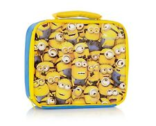 Despicable Me Boys Minion Insulated Lunch Box Bag Minions School Lunchbox Gift