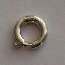Authentic Tiffany & Co. Sterling Silver spring ring jump ring clasp