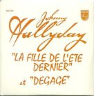 CD 2 TITRES - JOHNNY HALLYDAY : LA FILLE DE L' ETE DERNIER ( NEUF EMBALLE )