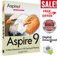Vectric Aspire 9.5 Software Full Activation Version For Windows Design 3D Models