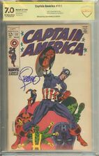 Captain America #111 CBCS (not CGC) Signed Jim Steranko - Your Choice