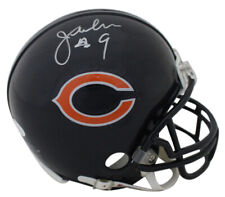 Jim McMahon Autographed/Signed Chicago Bears Mini Helmet JSA 12368