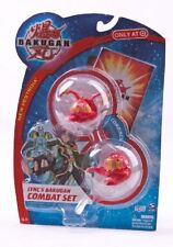 Bakugan- Lync's Combat Set- Includes Pyrus Altair and Pyrus Wired. 2 Combining