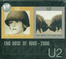 U2 - The Best Of 1980-2000 Doppia Raccolta In Slip Case Fuori Catalogo 2X Cd New