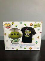 Funko Pop! Disney Pixar Alien Remix Buzz Lightyear Glow + Tee Target Exclusive