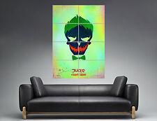 THE JOKER SUICIDE SQUAD NEWS COMICS Wall Poster Grand format A0  Print