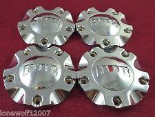 DUB Wheels Chrome OG Metal Custom Wheel Center Caps Set of 4