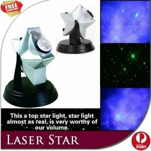 New Laser Twilight Projector Astronomy Night Light Sky Star Show Cosmos Gift