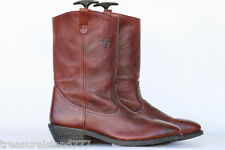 Mason Western full grain leather mens work/motorcycle boot 15 D In Excell Cond!
