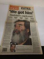 "2003 FLORIDA TODAY: ""WE GOT HIM"" Saddam Captured Iraq War 10 Page report EUC"
