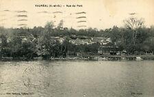 Carte VAUREAL Vue du Port