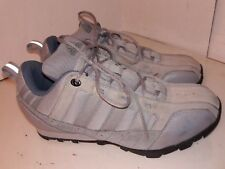 Adidas Gray Suede Fabric Sneakers Bike Bicycle Bmx Shoes Womens Size 6