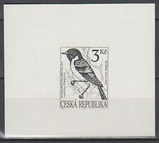 Czechoslovakia Sc2929 Bird, Songbirds, Saxicola Torquata, Proof