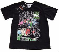 Ben10 Black T Shirt Size 7