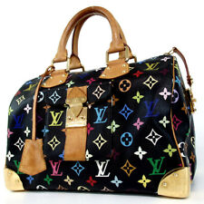 Authentic LOUIS VUITTON M92642 Monogram Multi Color Speedy 30 SP0093 Handbag...