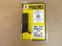 BERETTA – 21A, 25ACP 8 RD MAGAZINE by Triple K #1278M