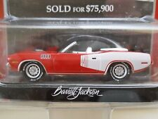 Greenlight - Barrett-Jackson - Auction Block - 1971 Plymouth 'Cuda 440 - 1/64