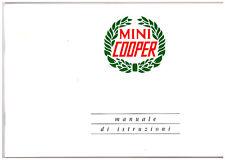 MINI COOPER ROVER - CLASSICA   -   USO E MANUTENZIONE! driver's handbook!