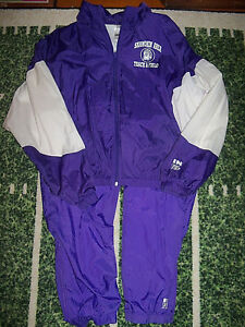 Team Issued High School Track & Field Warm Up Wind Jacket Pants Great for Jock