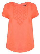 Cap Sleeve Blouse No Textured Tops & Shirts for Women