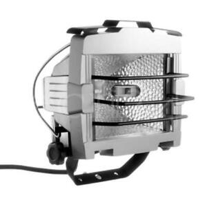 Halogenstrahler Baustellenstrahler Strahler Flutlicht 500W mit Schutzgitter