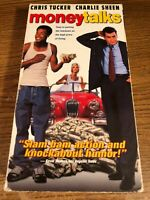 Money Talks VHS VCR Video Tape Movie  Chris Tucker Charlie Sheen Used