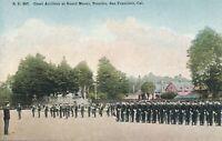 SAN FRANCISCO CA – Presidio Coast Artillery at Guard Mount