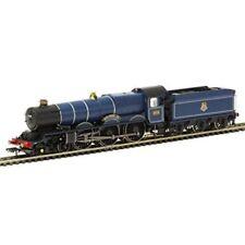 Locomotives analogiques bleus pour modélisme ferroviaire à l'échelle OO