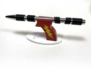 """ACME Studio """"Oh Ring"""" Adjustable Ball Point Pen on Ray Gun Base by Ben Hall NEW"""
