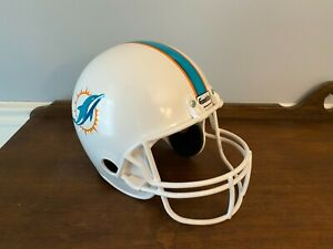 Miami Dolphins Franklin helmet plastic decoration man cave bar