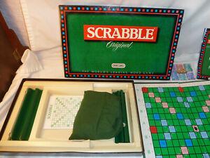 Vintage SCRABBLE Original 1988 Edition  Complete SPEARS GAMES