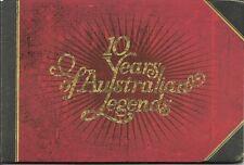 Australian Legends Stamp Booklet 2007 Celebrate10 Years of Australian Legends